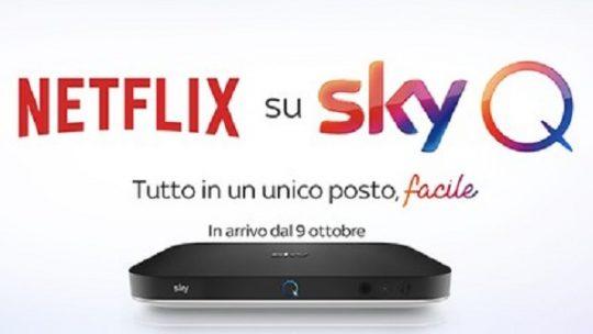 Netflix su Sky: prezzi e informazioni utili